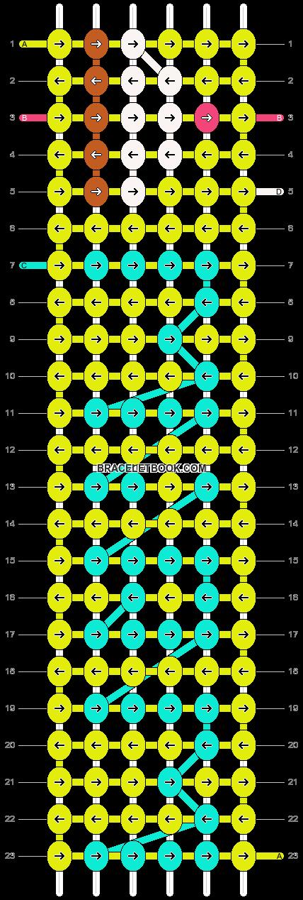 Alpha pattern #9254 pattern