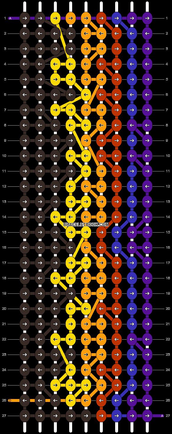 Alpha pattern #9255 pattern