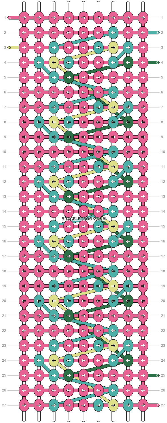 Alpha pattern #9264 pattern