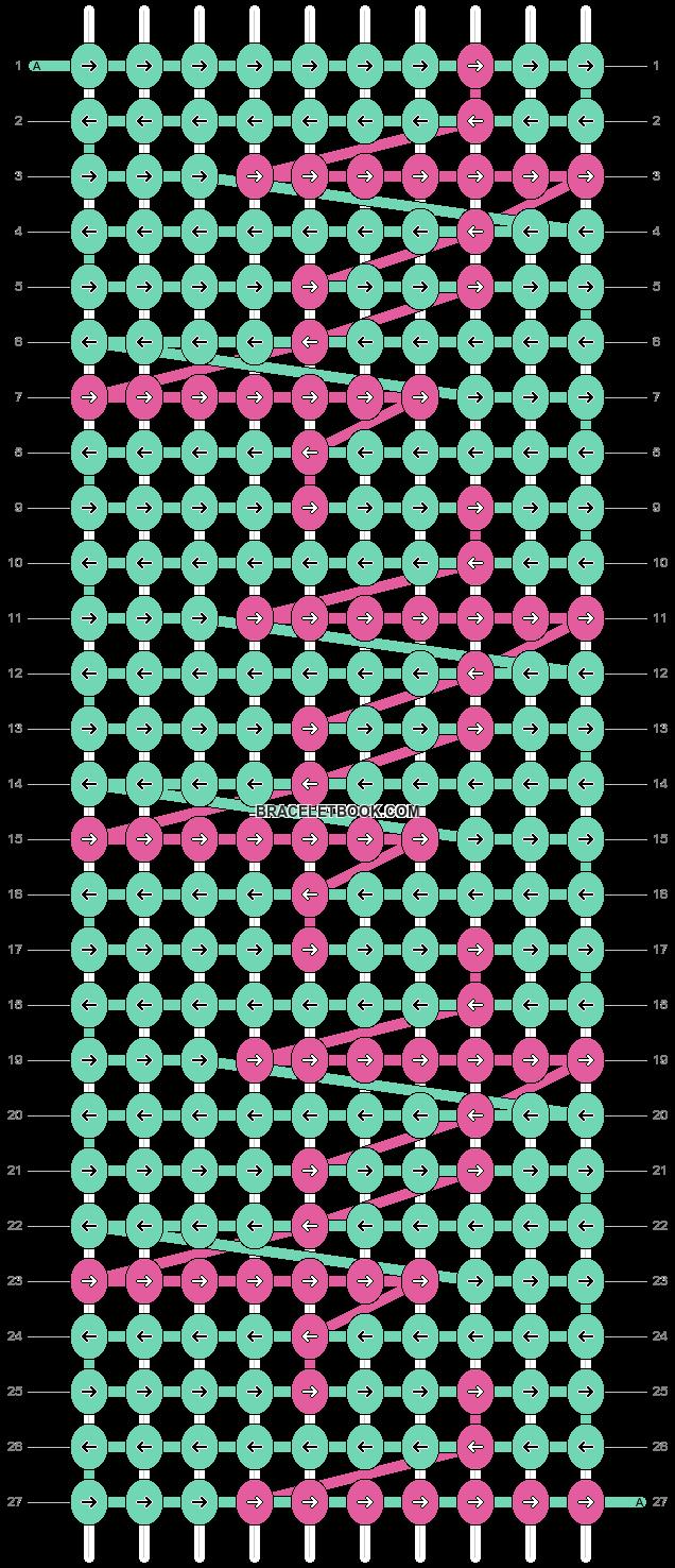 Alpha pattern #9265 pattern