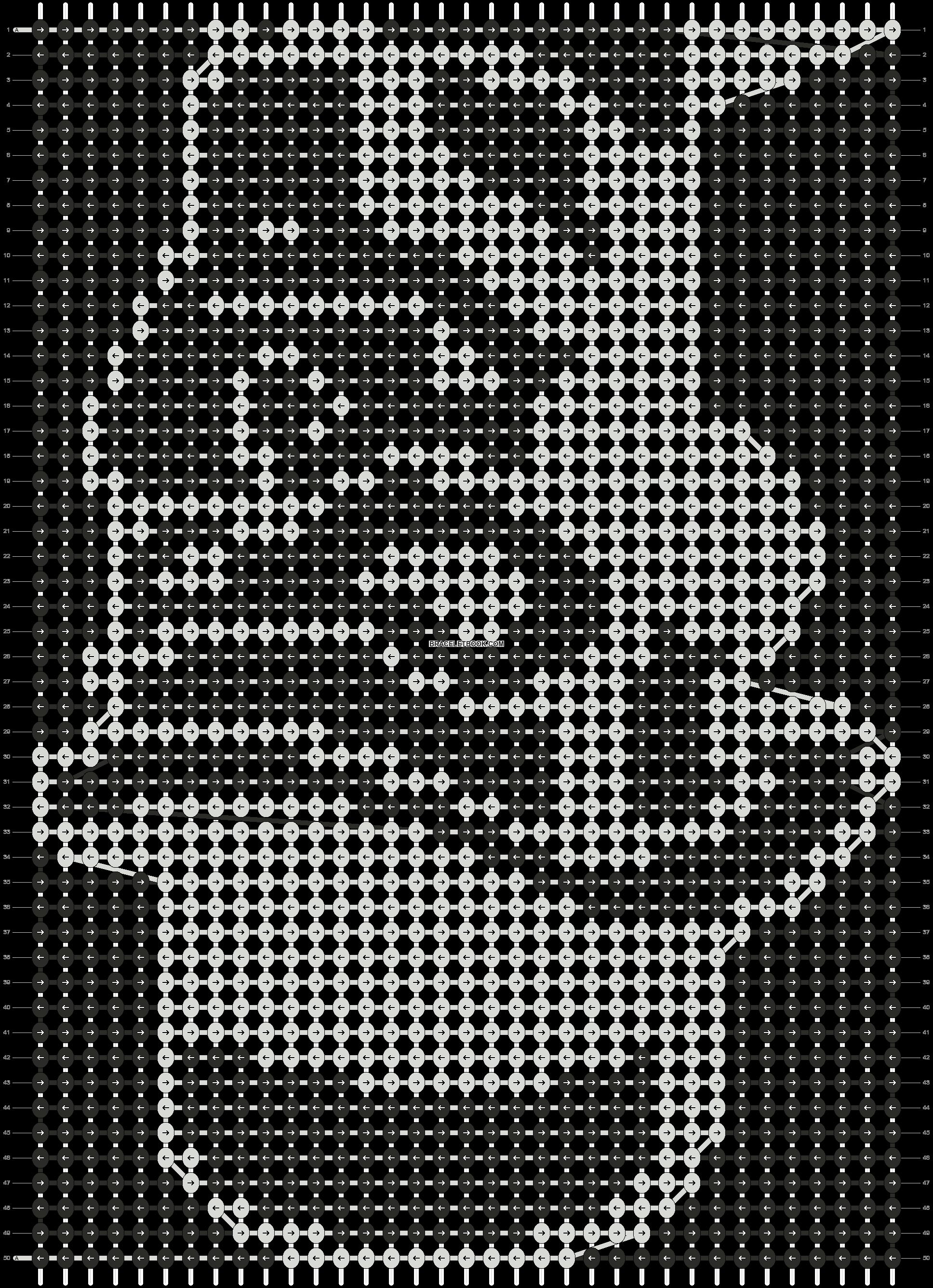 Alpha pattern #9266 pattern