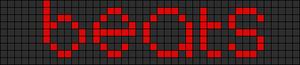 Alpha pattern #9276