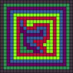 Alpha pattern #9287