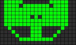 Alpha pattern #9288