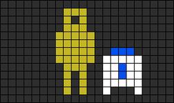 Alpha pattern #9292