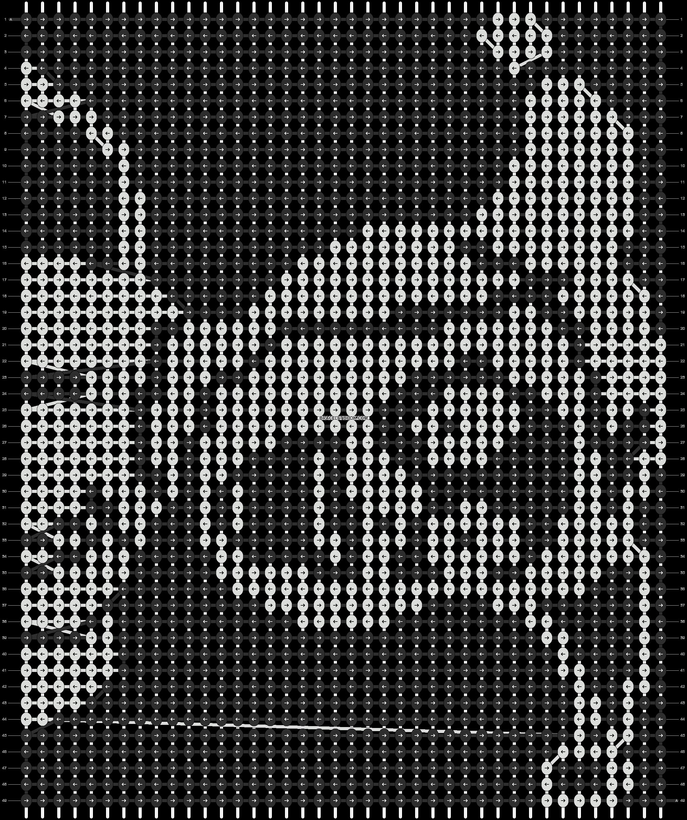 Alpha pattern #9301 pattern