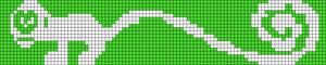 Alpha Friendship Bracelet Pattern #9303