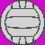 Alpha Friendship Bracelet Pattern #9305