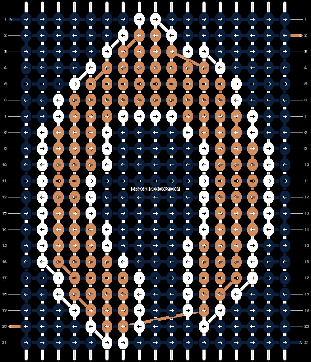 Alpha pattern #9308 pattern