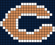 Alpha pattern #9308