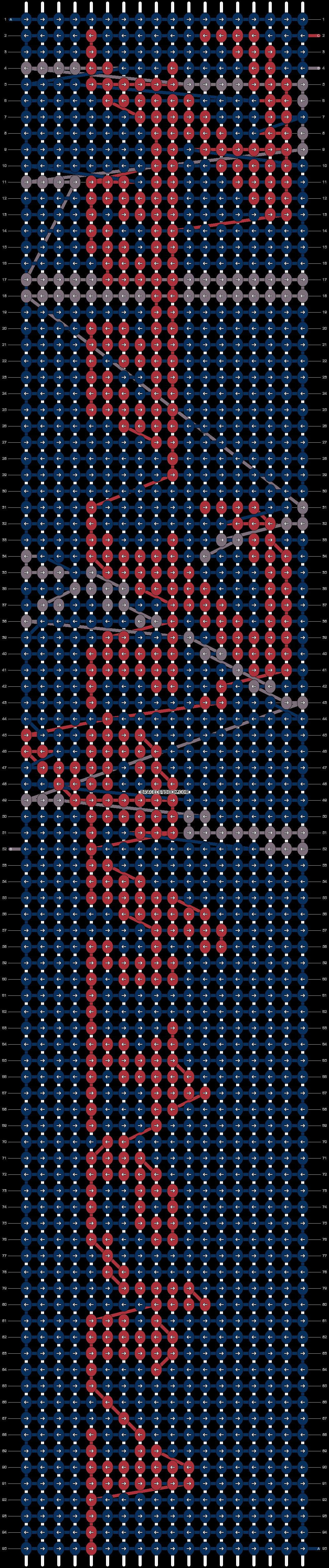Alpha pattern #9310 pattern