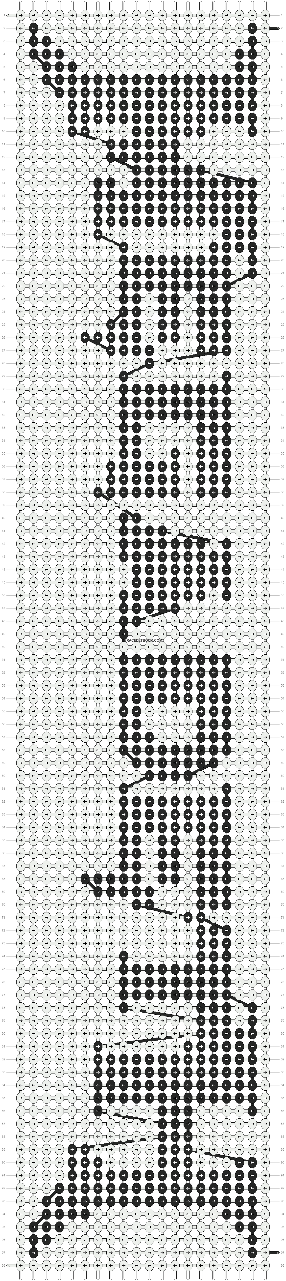 Alpha pattern #9311 pattern