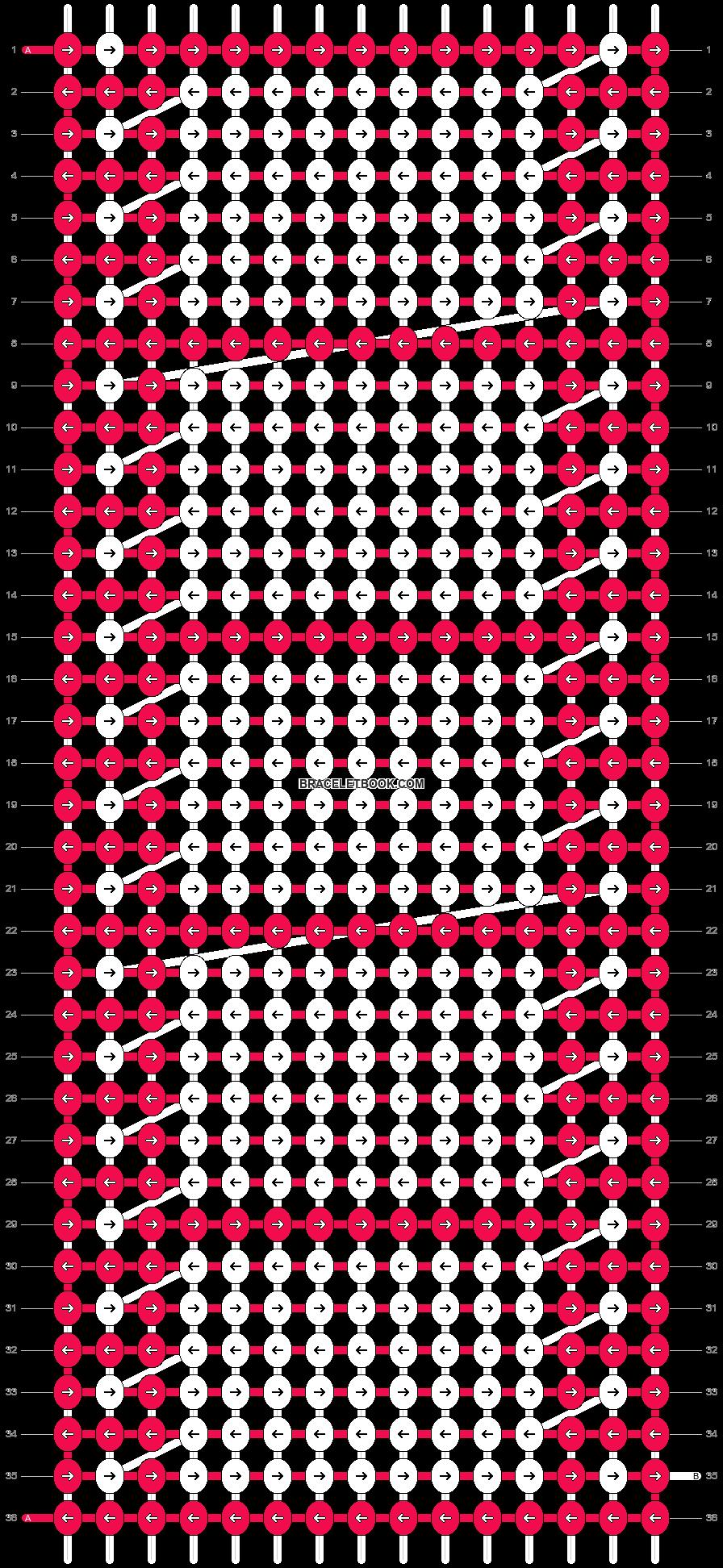 Alpha pattern #9315 pattern