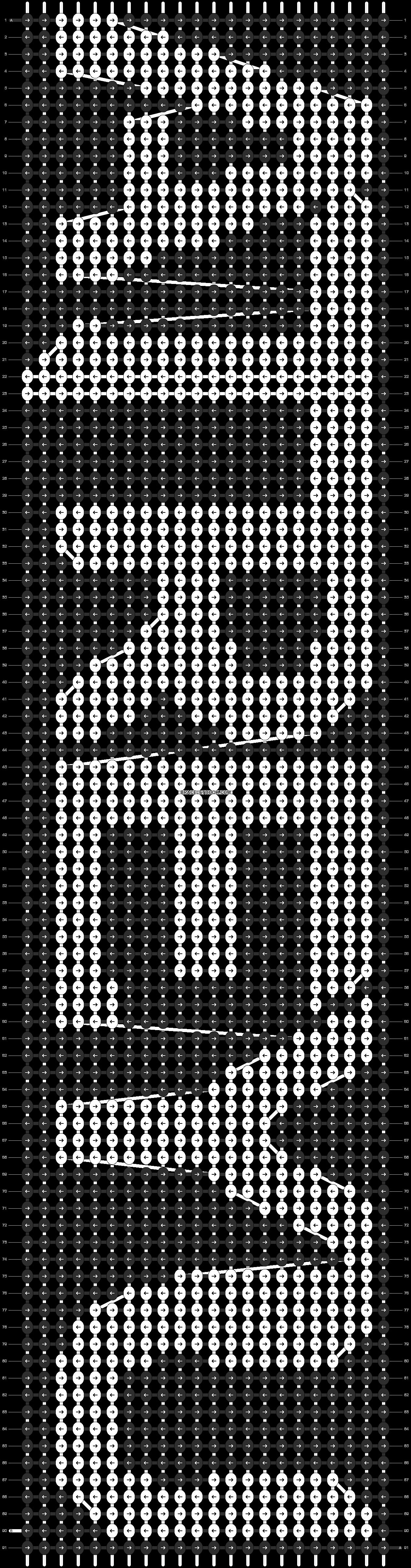 Alpha pattern #9316 pattern