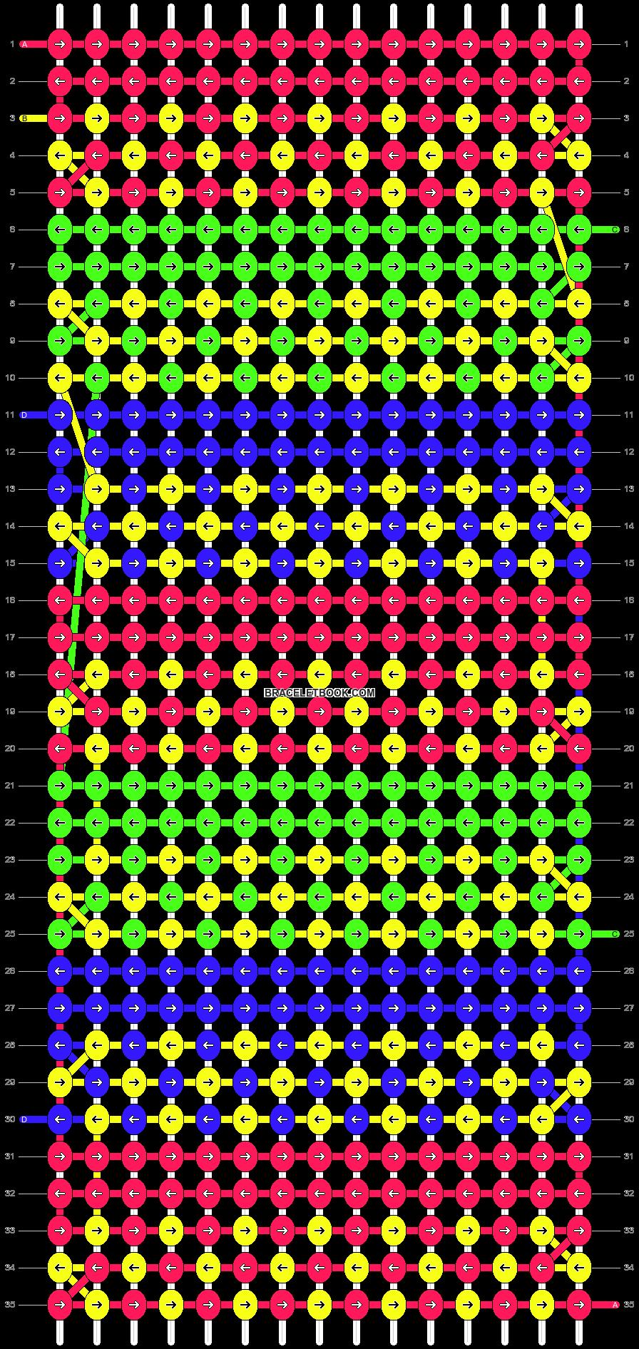 Alpha pattern #9320 pattern
