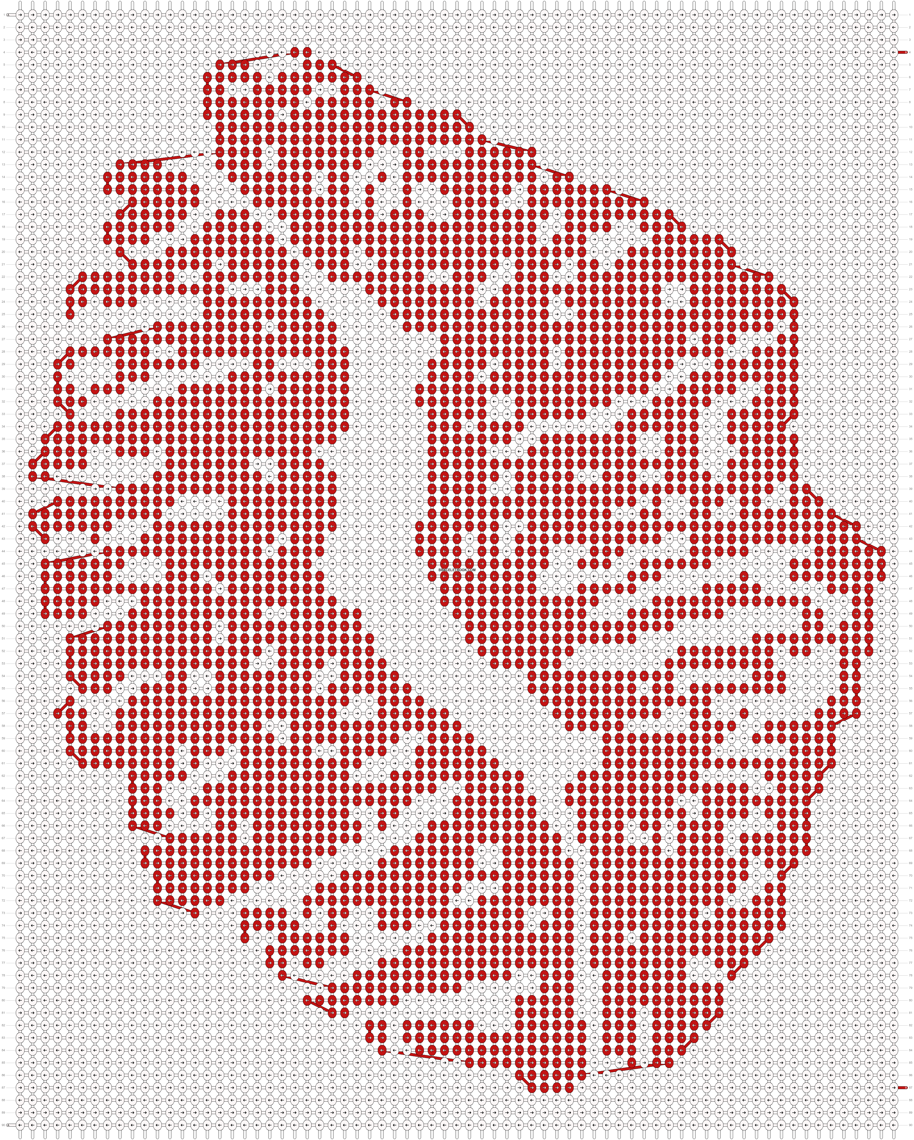 Alpha pattern #9321 pattern
