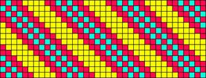 Alpha Friendship Bracelet Pattern #9325