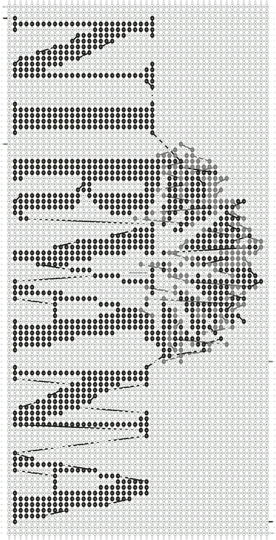 Alpha pattern #9332 pattern