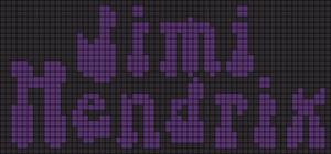 Alpha pattern #9333