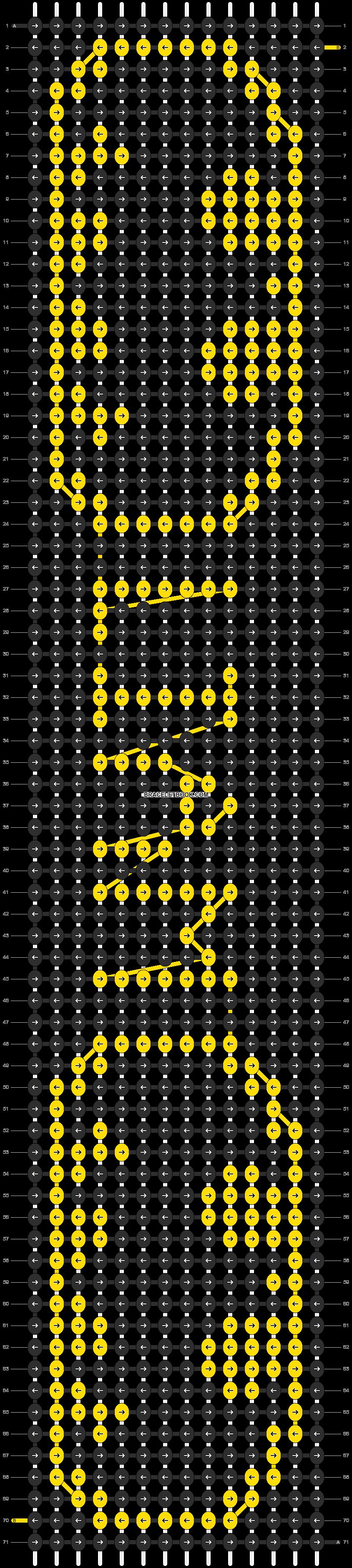 Alpha pattern #9336 pattern