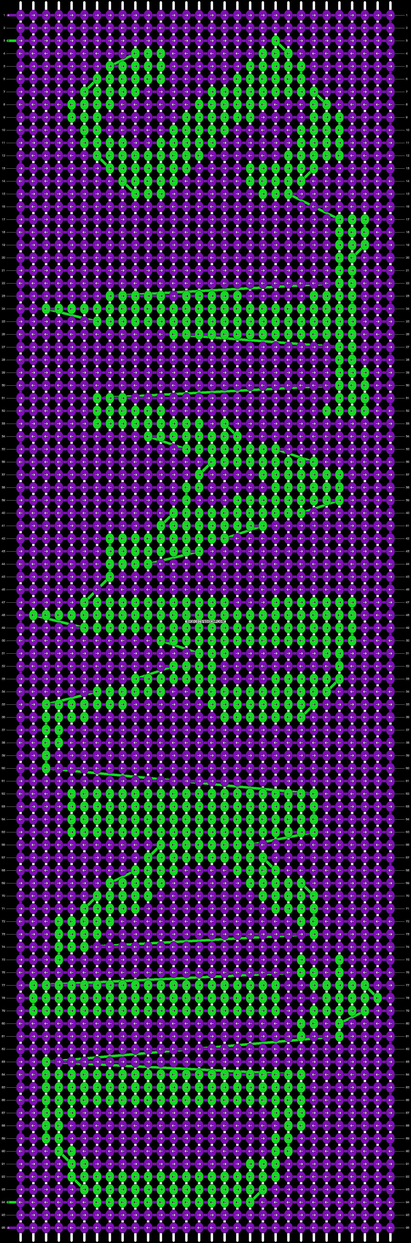Alpha pattern #9337 pattern