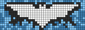Alpha Friendship Bracelet Pattern #9338