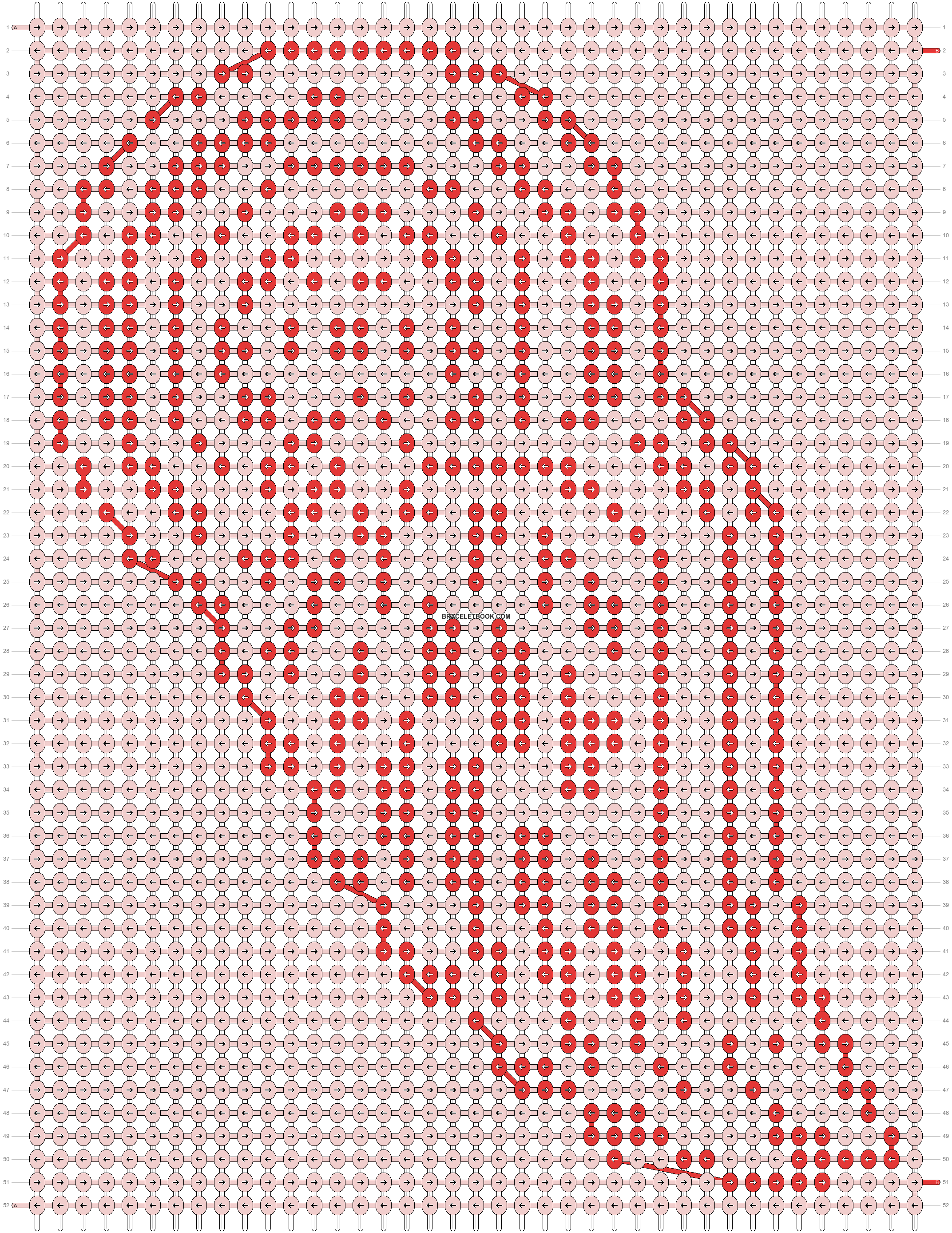 Alpha pattern #9343 pattern