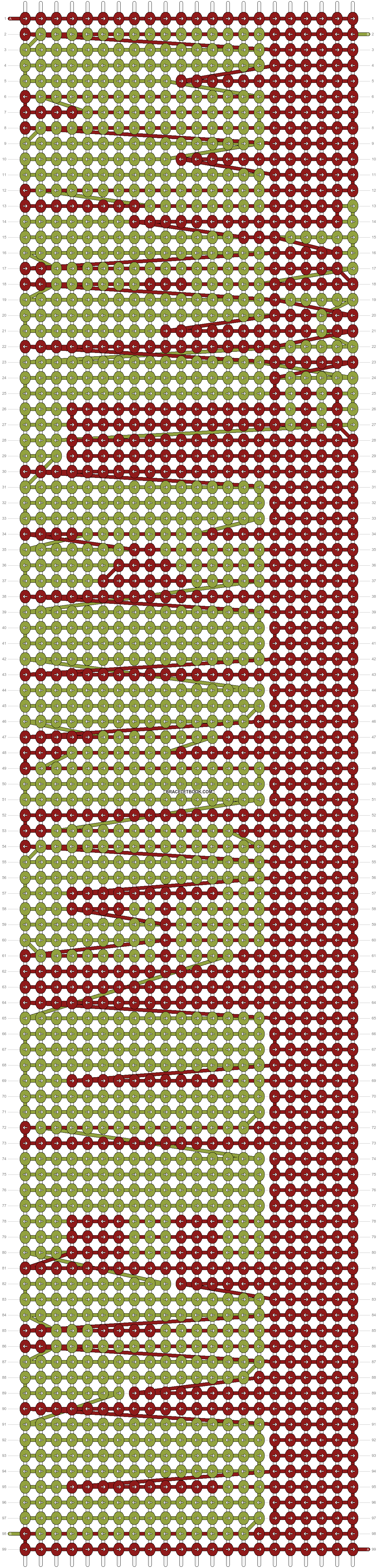 Alpha pattern #9344 pattern