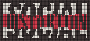 Alpha Friendship Bracelet Pattern #9354