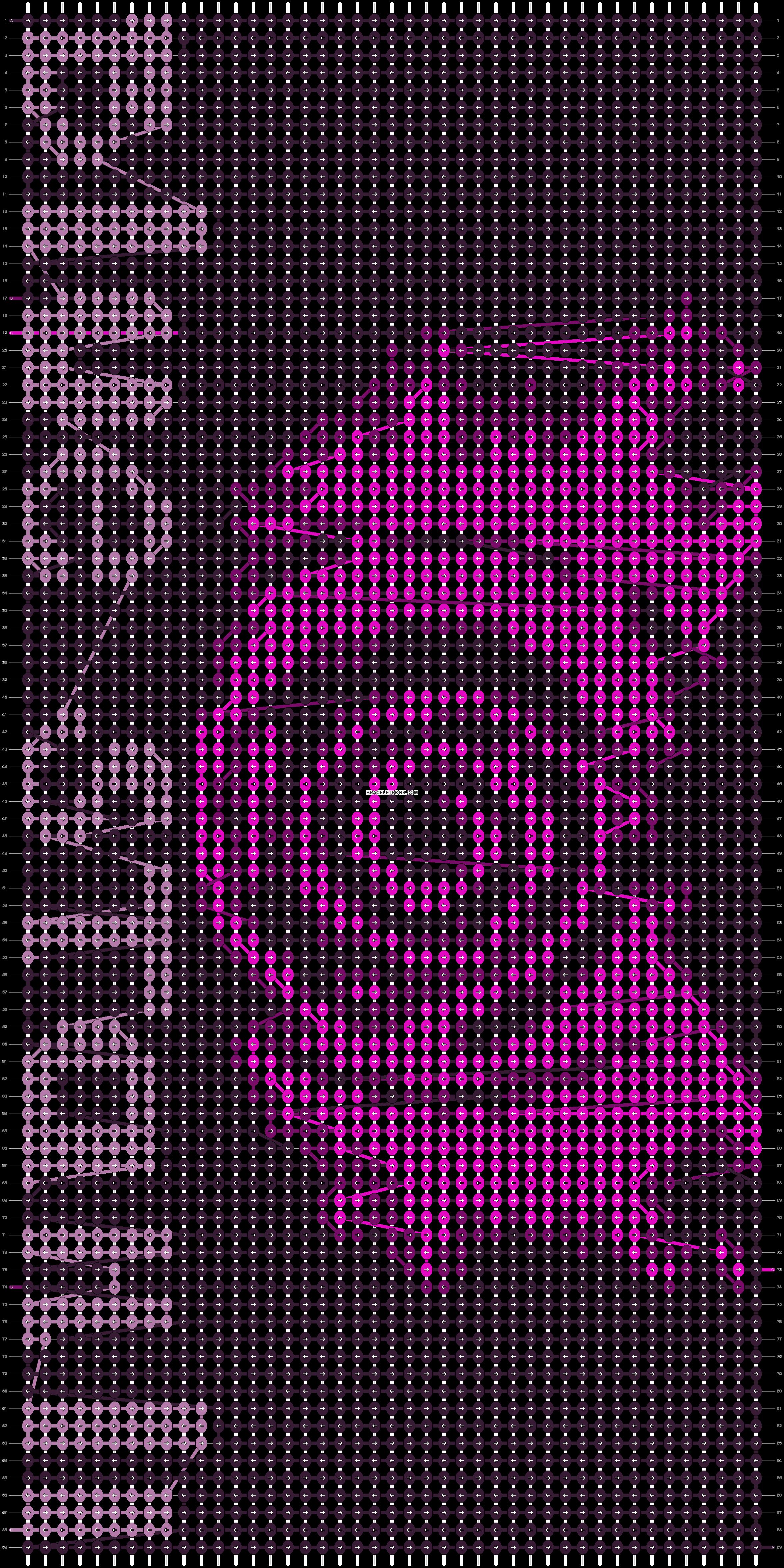 Alpha pattern #9357 pattern