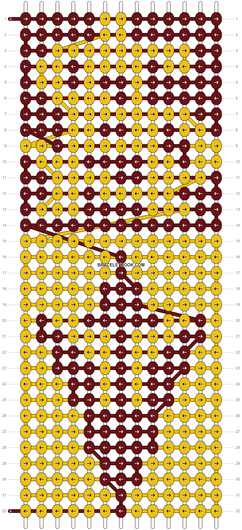 Alpha pattern #9362 pattern