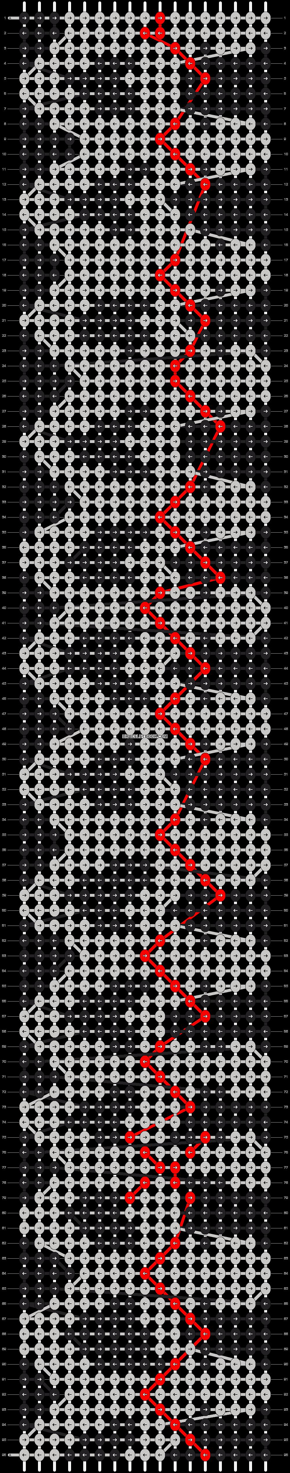 Alpha pattern #9364 pattern