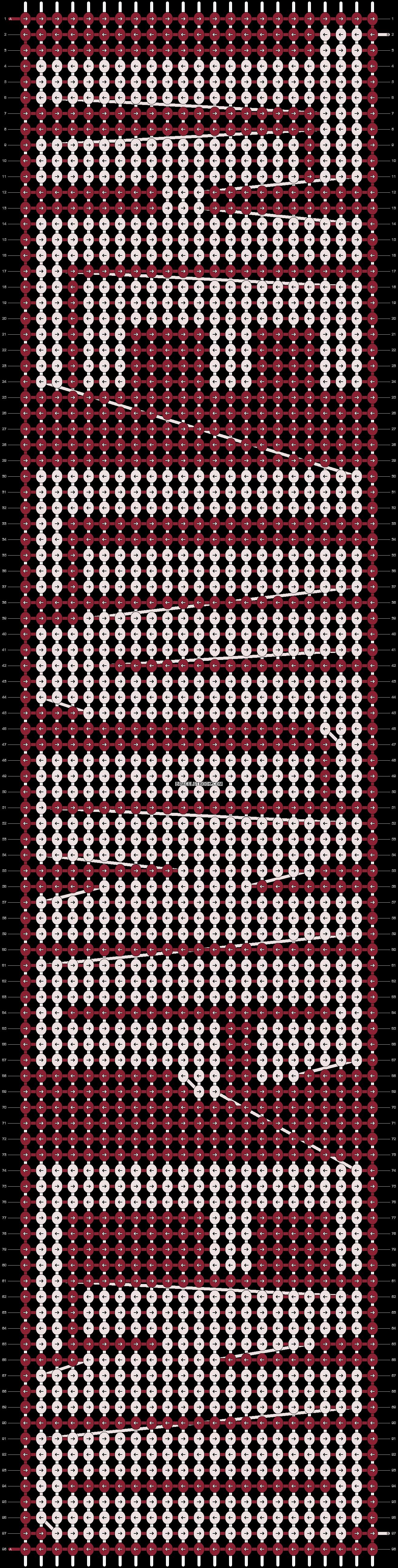 Alpha pattern #9366 pattern