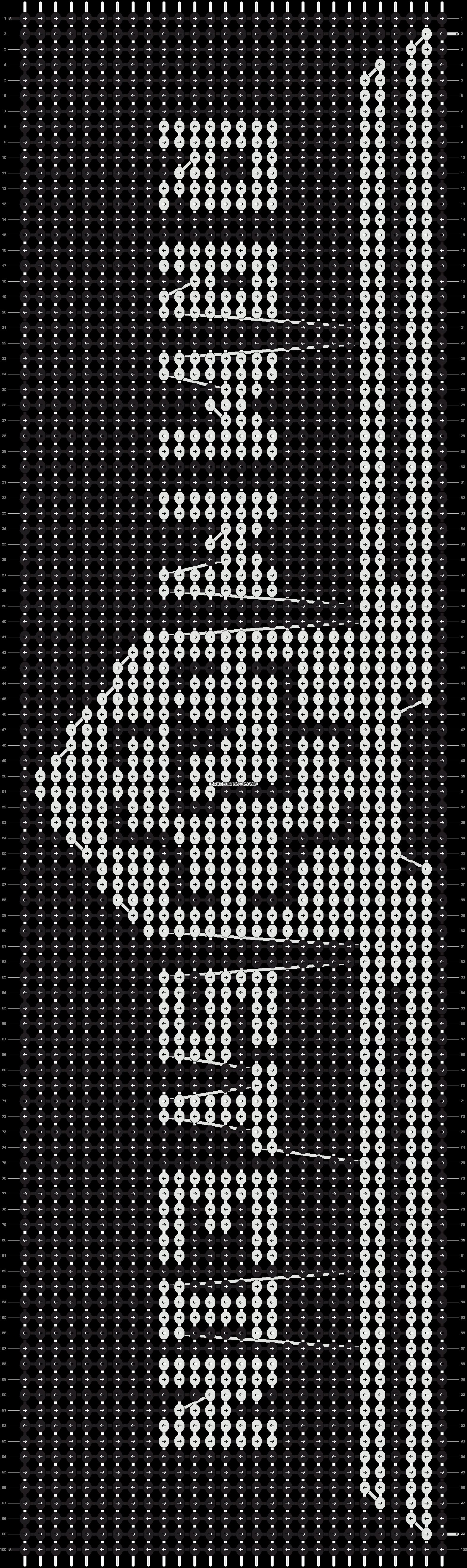 Alpha pattern #9367 pattern