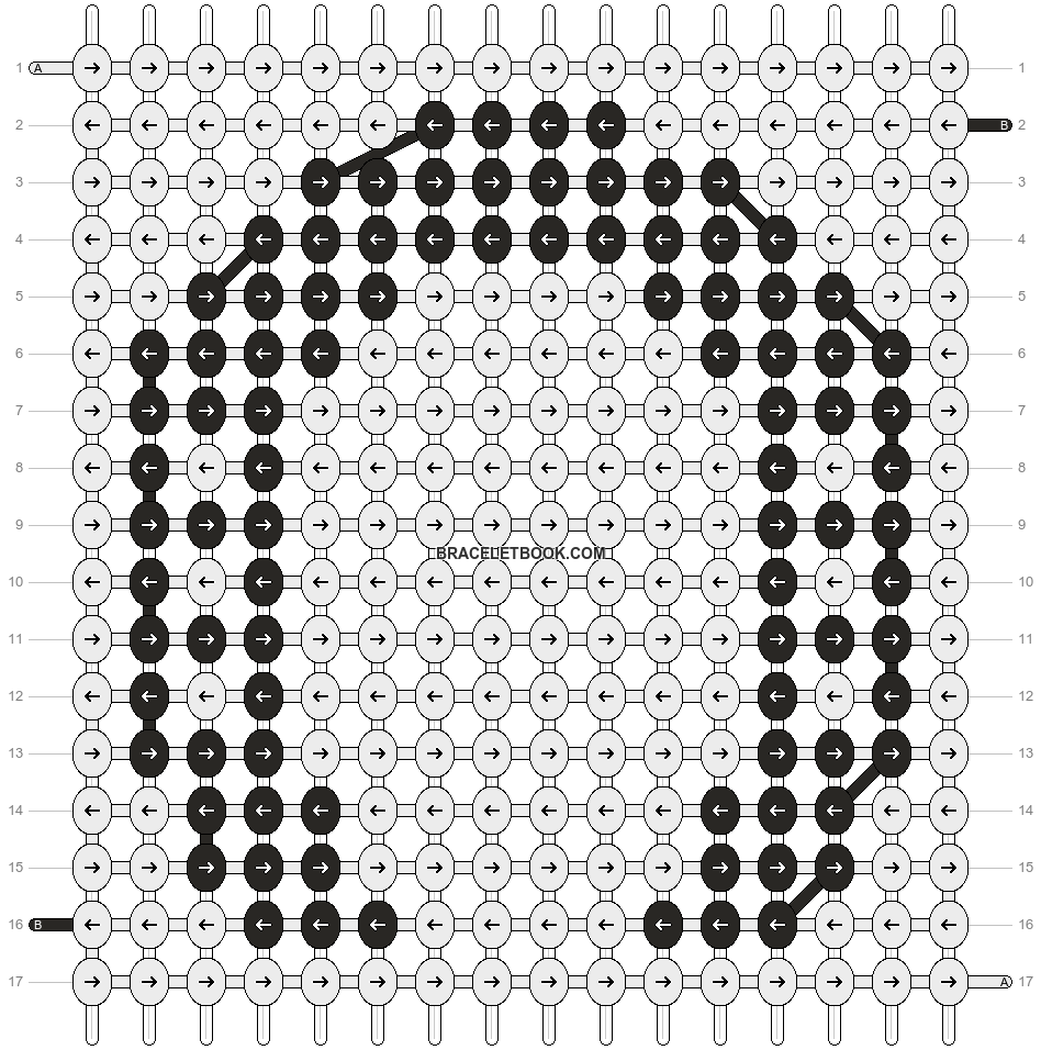 Alpha pattern #9375 pattern