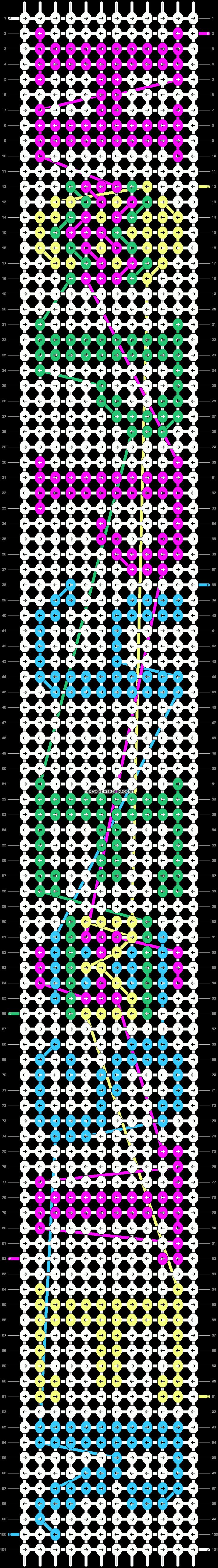 Alpha pattern #9378 pattern