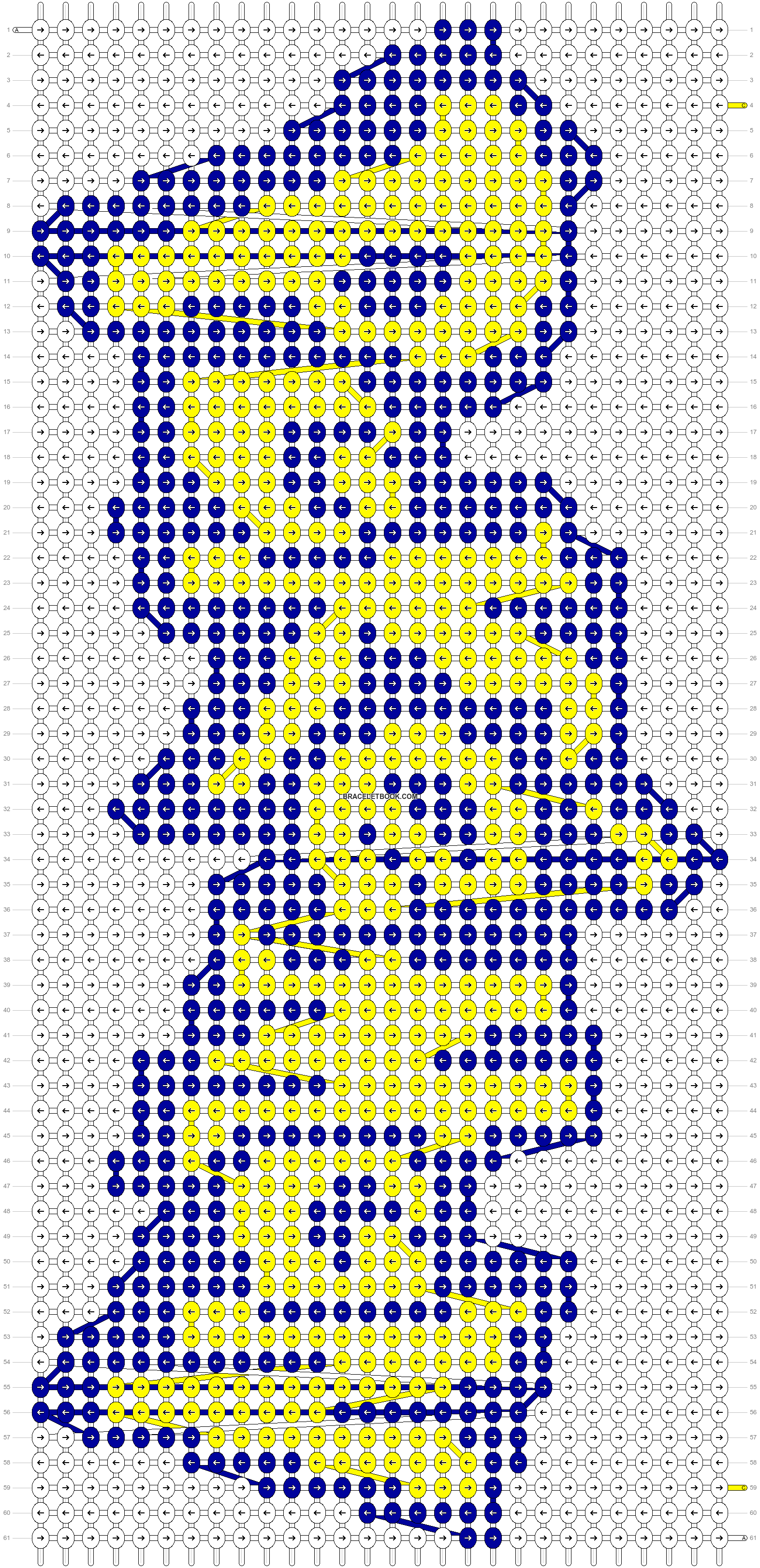 Alpha pattern #9392 pattern