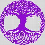 Alpha Friendship Bracelet Pattern #9395