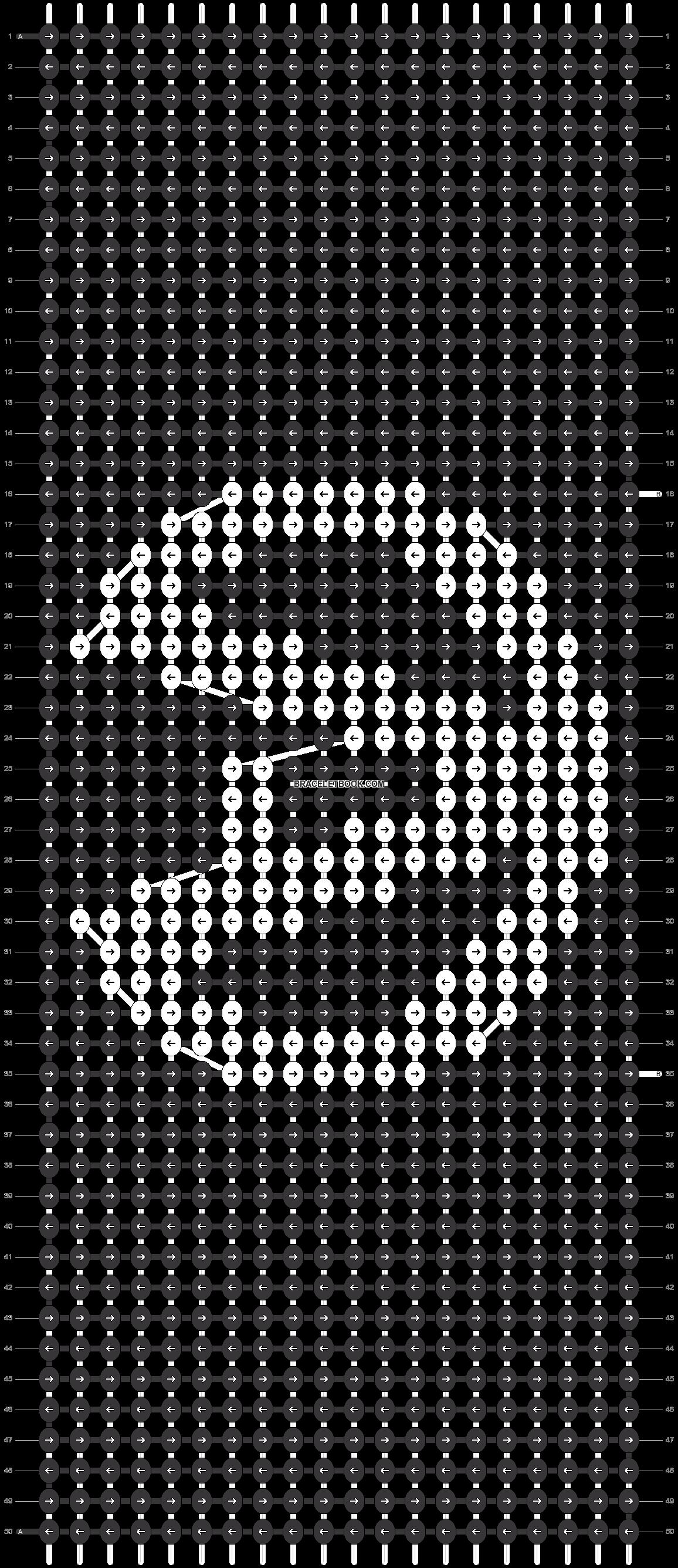 Alpha pattern #9396 pattern