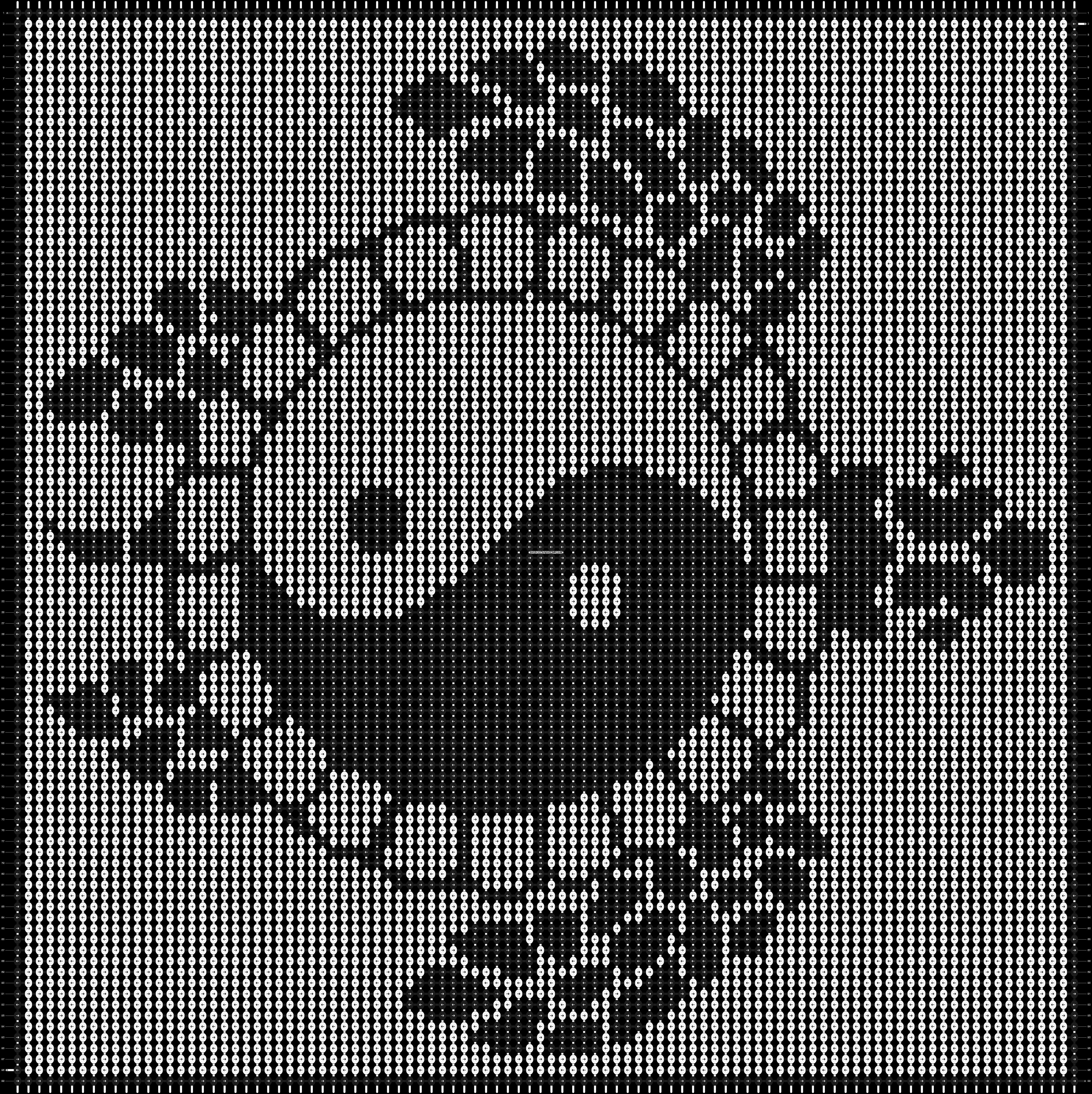 Alpha pattern #9406 pattern