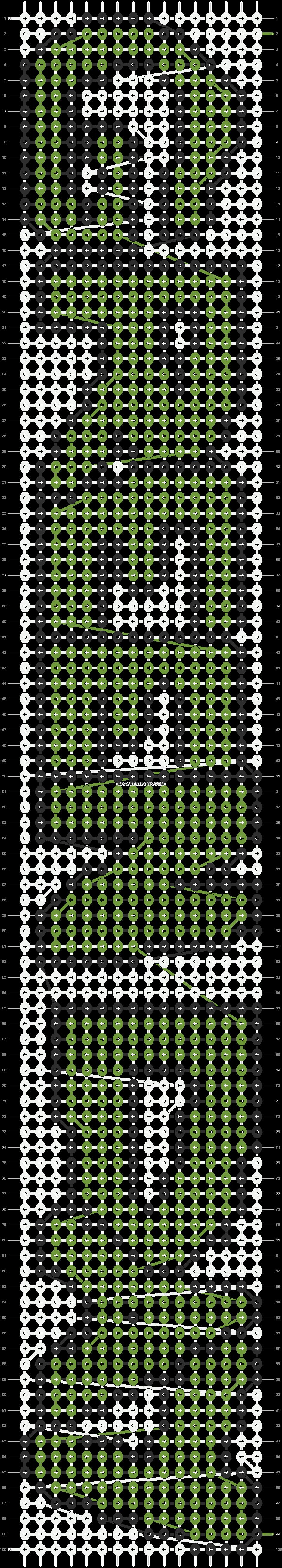 Alpha pattern #9411 pattern