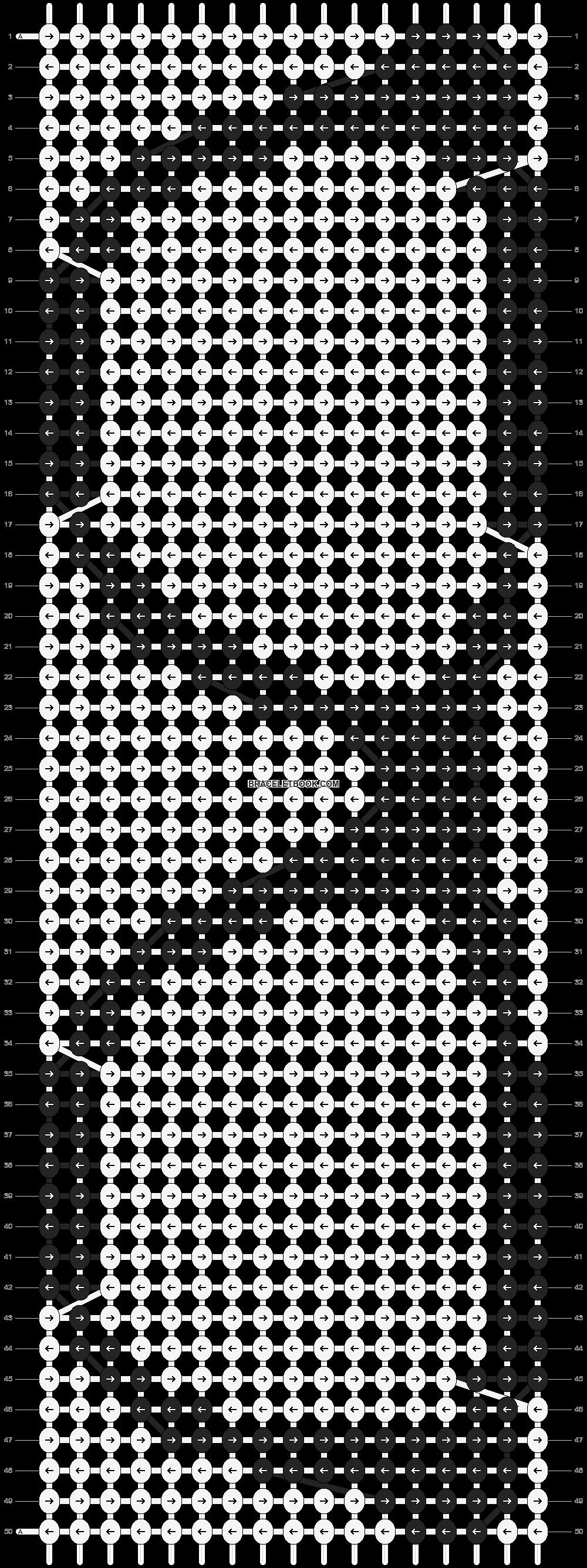 Alpha pattern #9413 pattern