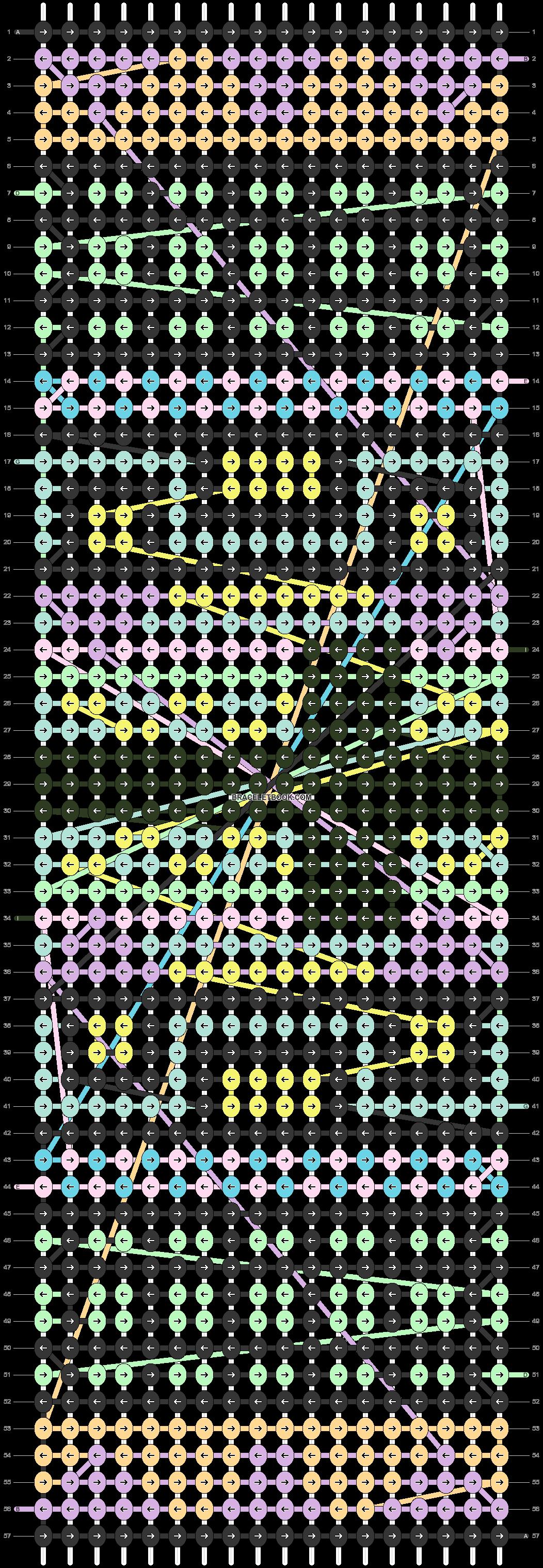Alpha pattern #9417 pattern