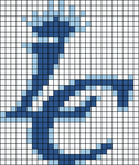 Alpha pattern #9418