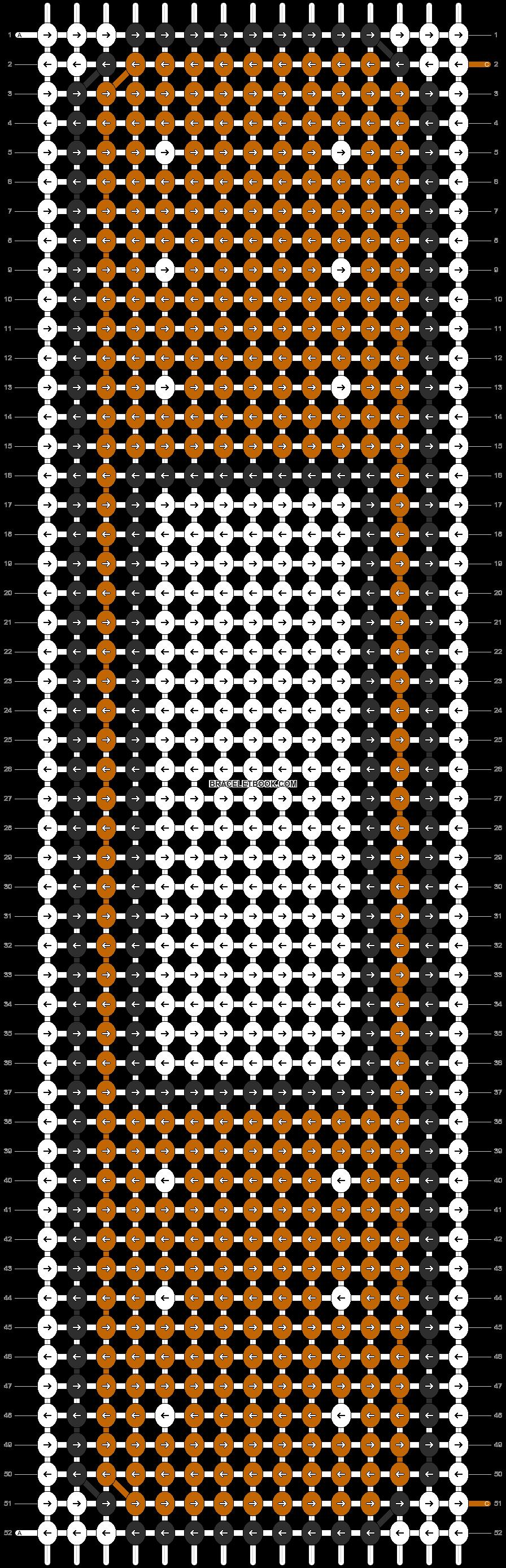 Alpha pattern #9422 pattern