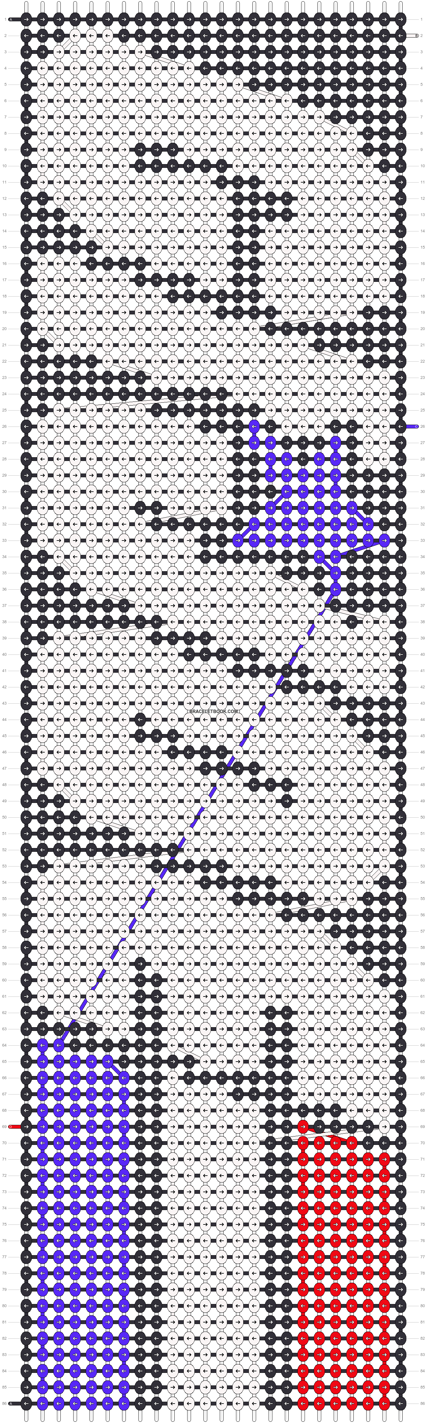 Alpha pattern #9430 pattern