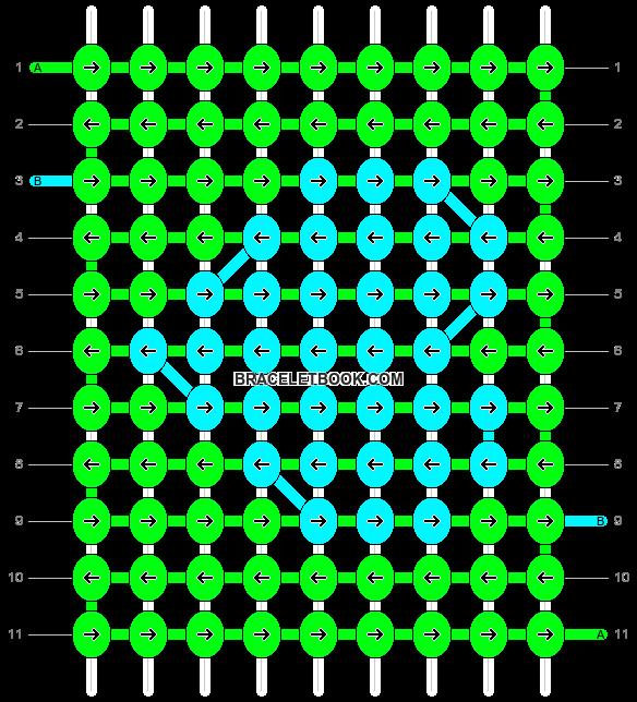 Alpha pattern #9433 pattern