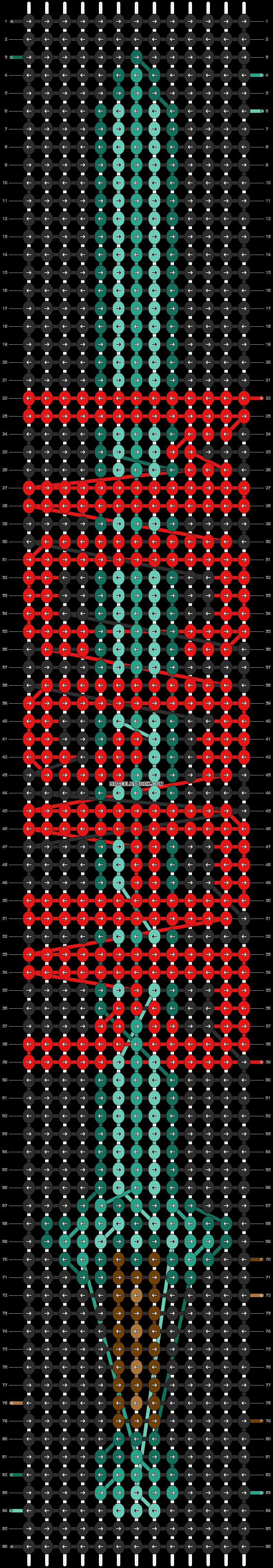 Alpha pattern #9437 pattern