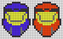 Alpha pattern #9443
