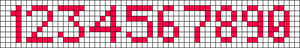 Alpha Friendship Bracelet Pattern #9447
